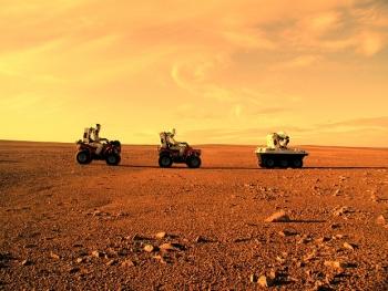 Марсианский бетон